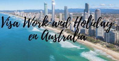 visa de vacaciones y trabajo en australia